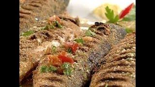 مطبخ منال العالم xxx سمك مشوي