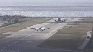 Video Amazing Short Take off KLM A330 at Sint Maarten Airport SXM with ATC MP3, 3GP, MP4, WEBM, AVI, FLV Juni 2019