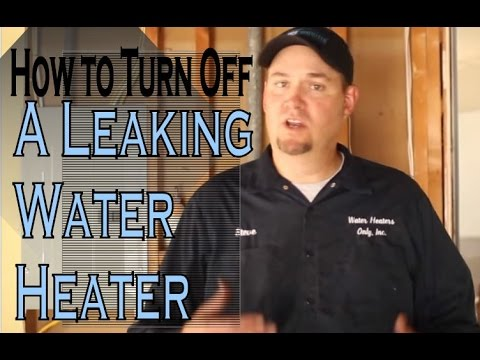 Shutting Down A Water Heater: How to Turn Off and Drain Leaky Water Heaters
