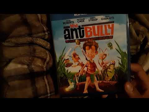 the antBully - Blu - Ray and DVD unboxing