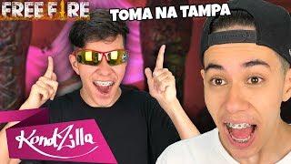 REAGINDO AO FUNK DO BELGAS TV DE FREE FIRE!
