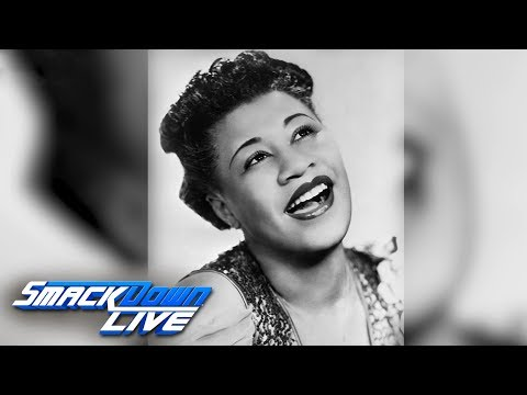 WWE honors Ella Fitzgerald during Women's History Month