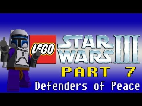 preview-Gaming with the Kwings - Lego Star Wars 3 part 7 (Wii) co-op (Kwings)