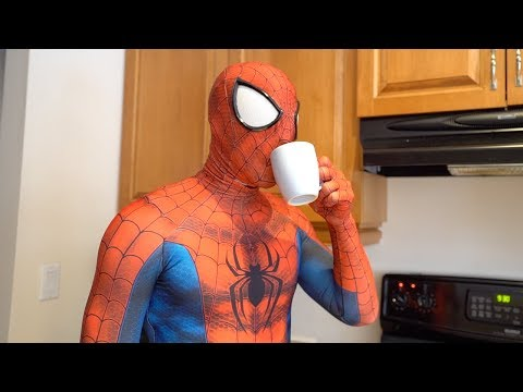 Spiderman's Morning Routine (In Real Life, Parkour)