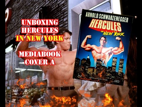 Unboxing - Hercules In New York - Mediabook - Cover A