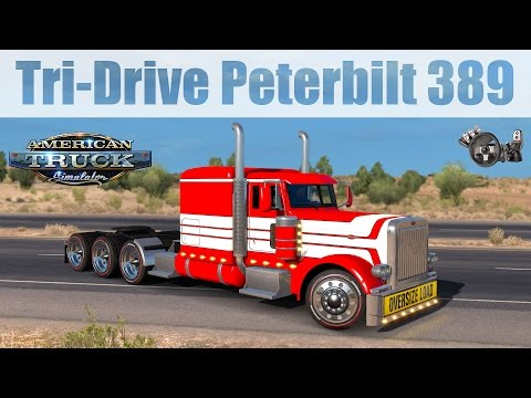 Tri-Drive Peterbilt 389 by Bu5ted 1.31.x