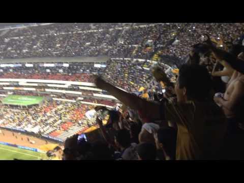 Como No Te Voy A Querer. america vs PUMAS 2014 - La Rebel - Pumas