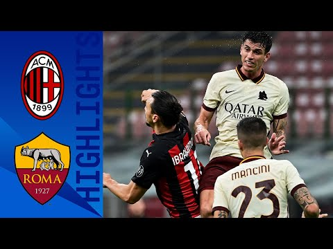 Milan 3-3 Roma   Roma fight back thrice to rescue a point!   Serie A TIM