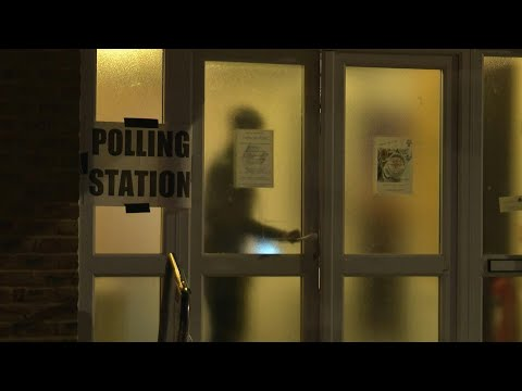 Eu Election Polls Close In The Uk