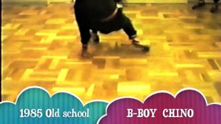 Chino Japan  city photos gallery : B-BOY CHINO 1985 Old school TOKYO JAPAN HIP HOP RSC Practice