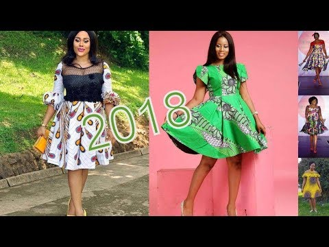 Trending Ankara Styles 2018 : Classical African Ankara Gown Styles