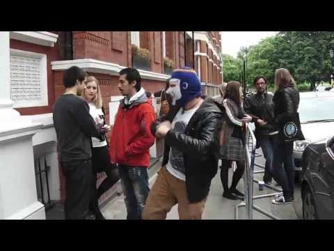 Azerbaijan Harlem Shake Protest in London