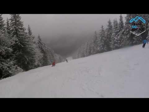 Ski Harrachov černá 3