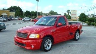 SOLD 2000 Ford F-150 SVT Lightning Red Meticulous Motors Florida For Sale
