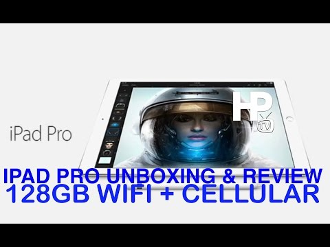Apple Ipad Pro 128GB Gold Wifi and Cellular Unboxing and Review by HourPhilippines.com