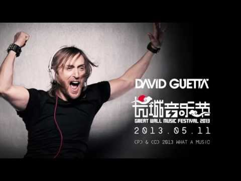 Great Wall Show Documentary - David Guetta (Video)