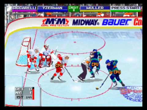 2 on 2 Midway Open Ice Challenge (MAME \ ARCADE )