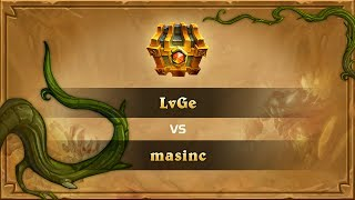 masnic vs Lvge, game 1