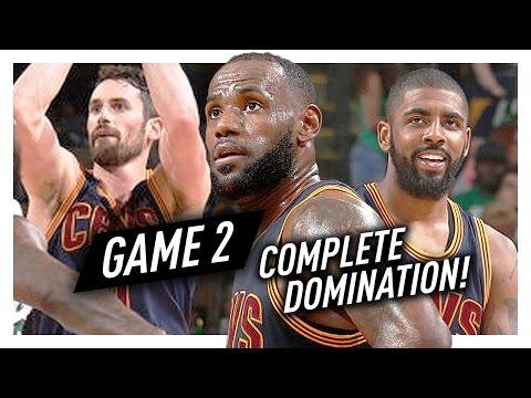 LeBron James, Kyrie Irving & Kevin Love Game 2 Highlights vs Celtics 2017 Playoffs ECF - DOMINATION!