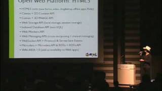 HTML5 Overview for Web Application Developers: Google DevFest 2010 Japan