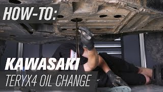 8. How To Change the Oil on a Kawasaki Teryx4