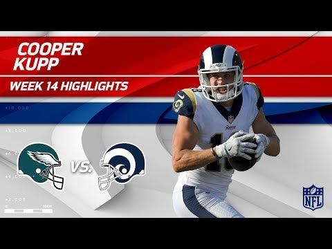 Video: Cooper Kupp Leads LA Receivers vs. Philly w/ 118 Yards! | Eagles vs. Rams | Wk 14 Player Highlights