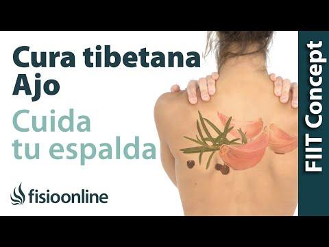 Cuida tu salud y tu espalda con la cura tibetana del ajo