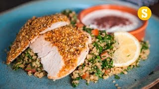 Crusted Chicken & Tabbouleh by SORTEDfood