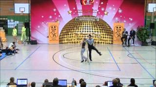 Gudrun Ziegeler & Andreas David - Landesmeisterschaft Hessen 2013-14