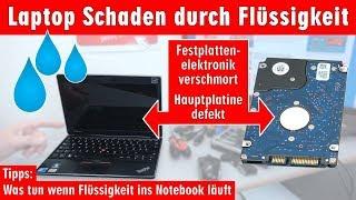 Video Laptop Wasserschaden - Flüssigkeit im Notebook - Erste Hilfe und Tipps - Kaffee Tee Cola - [4K] MP3, 3GP, MP4, WEBM, AVI, FLV Juli 2018