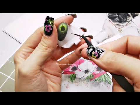 Nailart Airbrush Design HEUL DOCH  Tutorial NAGELDESIGN
