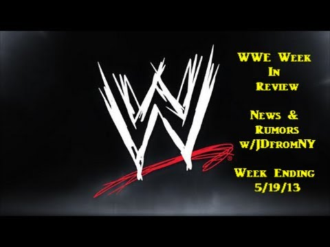 NWO - WWE Week In Review - News & Rumors Week Ending 5/19/2013 If you enjoyed this video commentary, please show your support by hitting that LIKE button. Let's tr...