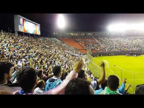 Olimpia - Independiente del Valle-Copa Libertadores 2017-Recibimiento. Estadio Defensores del Chaco. - La Barra del Olimpia - Olimpia - Paraguay - América del Sur
