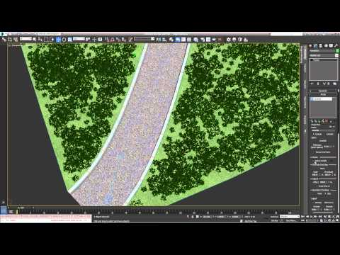 TUTORIAL:  Getting clean edges in Forest Pack (intermediate)