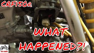 7. Honda CRF150R 2008 Rough Running Diagnose -- CARBURETOR ISSUE ~ CRF