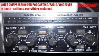 Video Compressors and podcasting radio voice compression (english) MP3, 3GP, MP4, WEBM, AVI, FLV Juli 2018