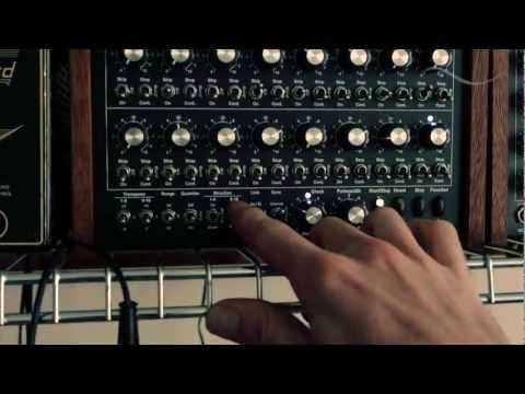 phatties - Demonstration of the Doepfer Dark Time sequencing two Moog Little Phatties via control voltage. The first LP sends a MIDI signal to the second LP without sen...
