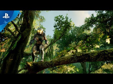 Predator Hunting Grounds - Gameplay Reveal  PS4