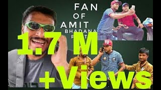 Video Fan of Amit Bhadana Part 2 MP3, 3GP, MP4, WEBM, AVI, FLV Oktober 2017