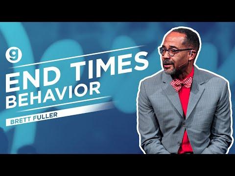 End Times Behavior   Brett Fuller