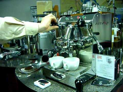 Quick Mill Anita Espresso Machine and Mazzer Grinder