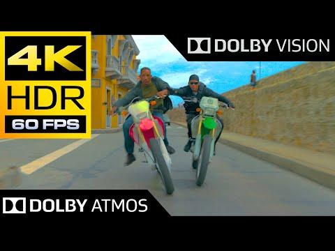 4K HDR 60FPS ● Bike Chase Scene (Gemini Man) ● Dolby Vision ● Dolby Atmos