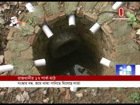 Stagnant water causes dengue larvae in the city (30-05-2020) Courtesy: Independent TV