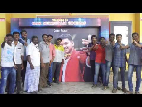 Video Theri FDFS Celebrations  Ram Cinemas download in MP3, 3GP, MP4, WEBM, AVI, FLV January 2017
