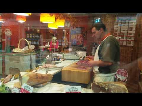 The Butcher Shop on Rue Daguerre, Paris France