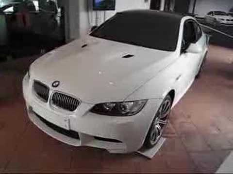 BMW E92 M3 Simulator