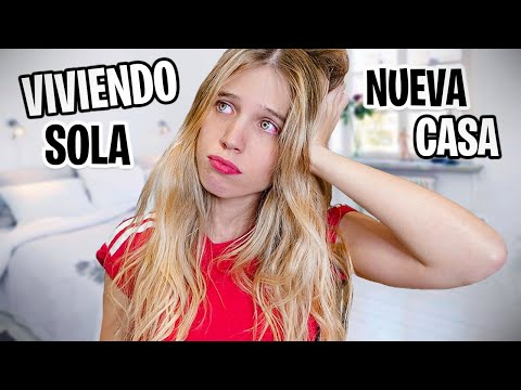 VIVIENDO SOLA POR PRIMERA VEZ + HOUSE TOUR | Laia Oli
