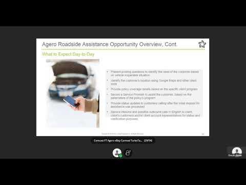 Agero Roadside Webinar