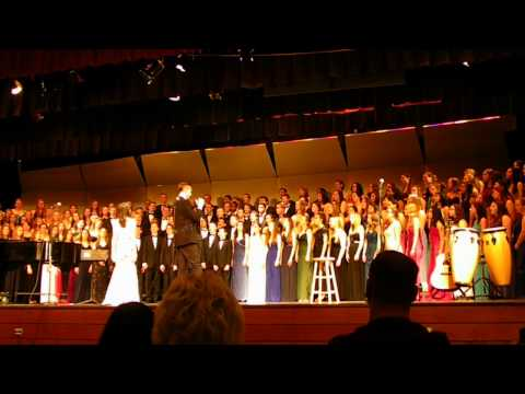 NHS choir 2015 I'm yours, somewhere over the rainbow