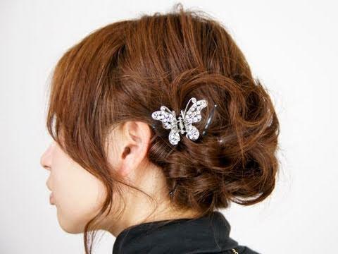 最新のヘアスタイル 結婚式髪型ハーフアップ 自分 : Braid Hair Style